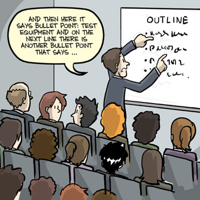 Effective Presentations: Hints for effective delivery